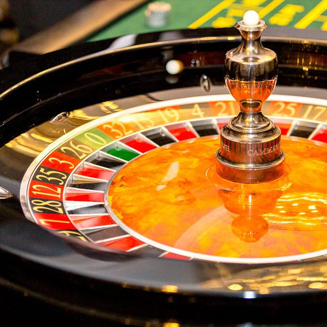 Roulette wheel hire