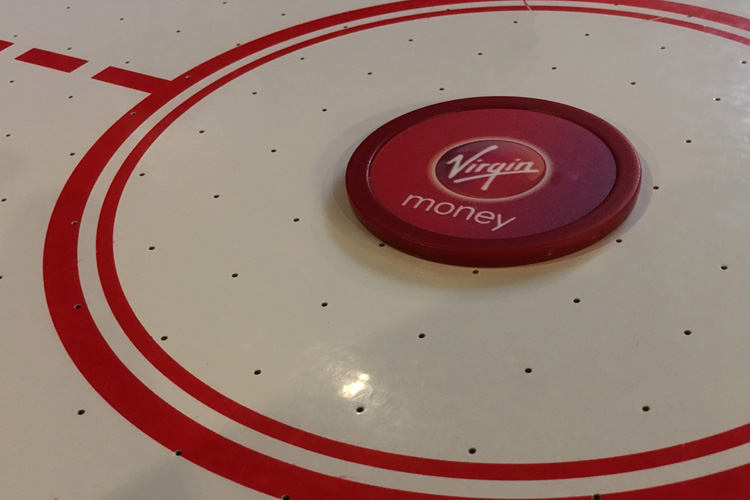Branded Air hockey tables