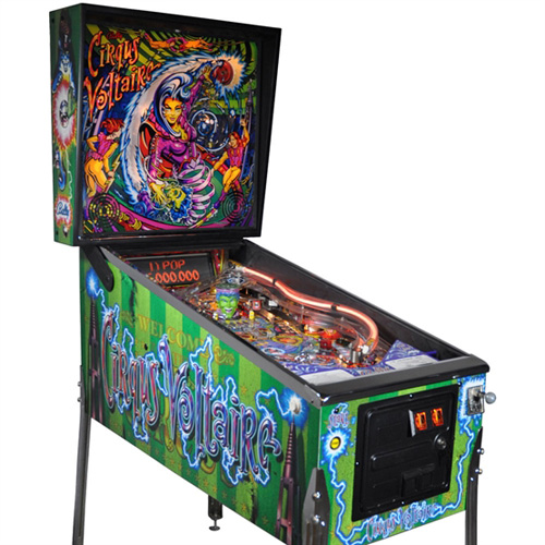 Cirqus Voltaire Pinball Hire