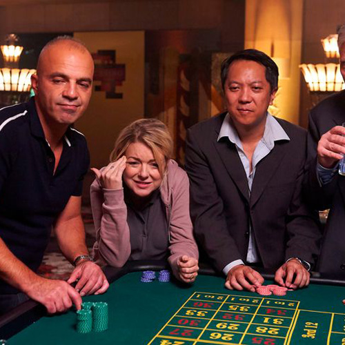 Cleaning Up TV Drama - Casino tables