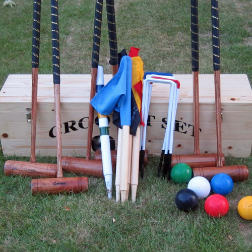 Croquet set hire