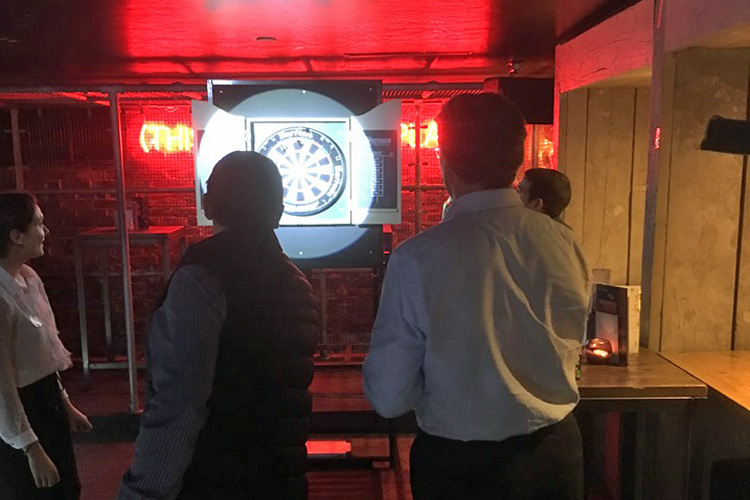 Darts hire London