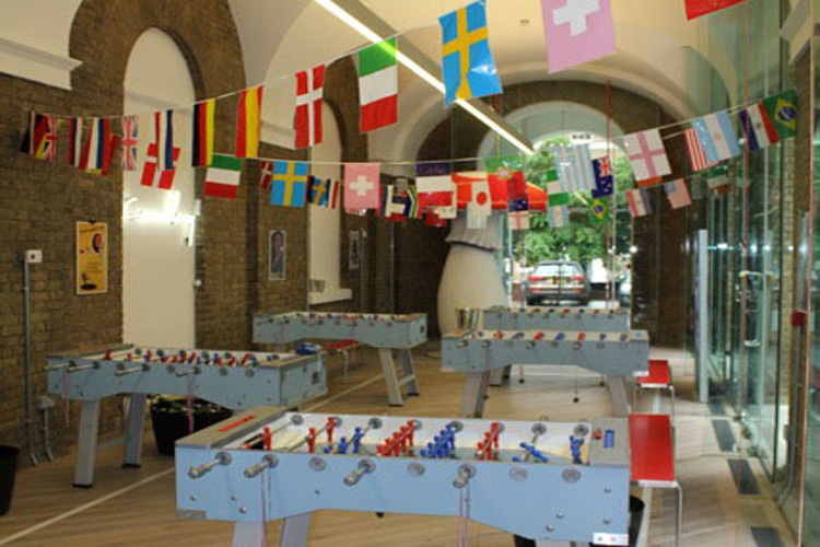 Football table event hire