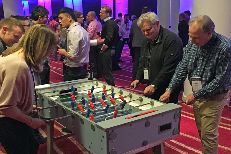 Football table party hire