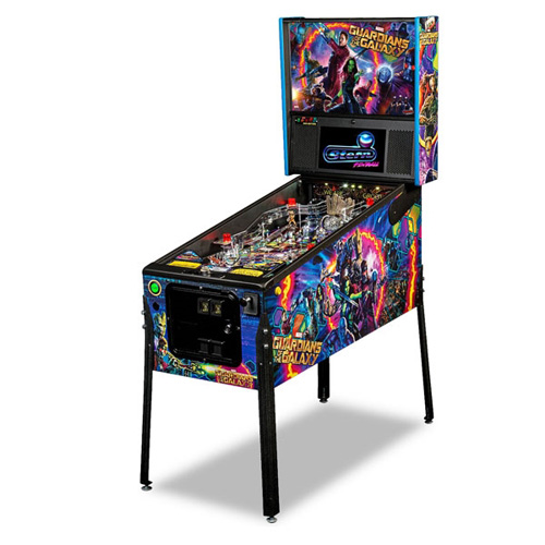 Guardians of The Galaxy Pinball Hire