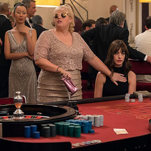 Hustle Movie - Casino tables