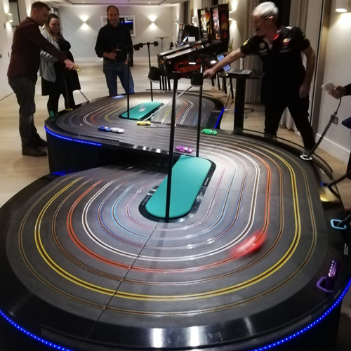 Monte Carlo Scalextric night