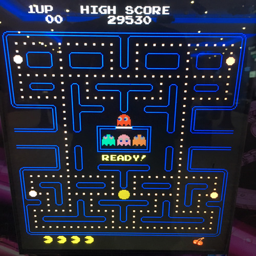 Pac Man game hire