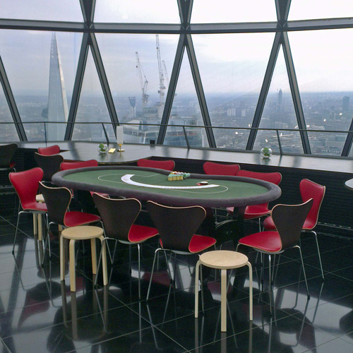 Poker hire in London