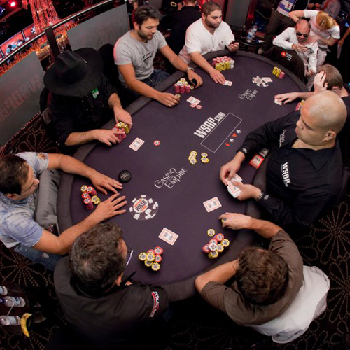 rofessional Poker table hire