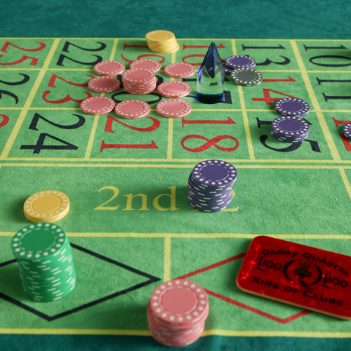 Roulette table top hire