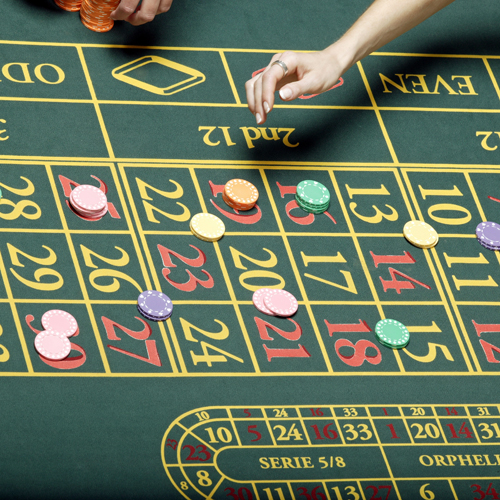 Roulette table top rental
