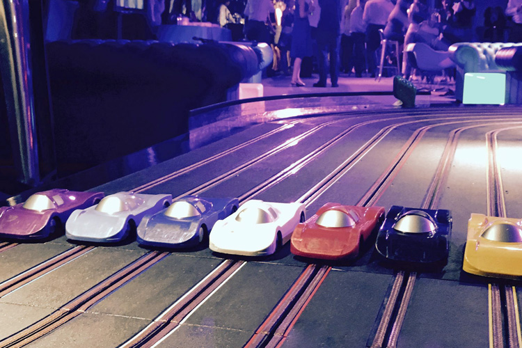 Scalextric track hire