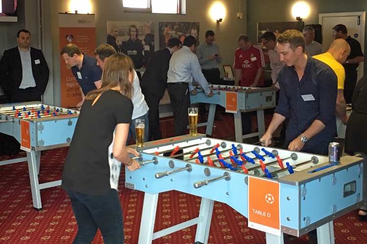 Table Footie World Cup hire