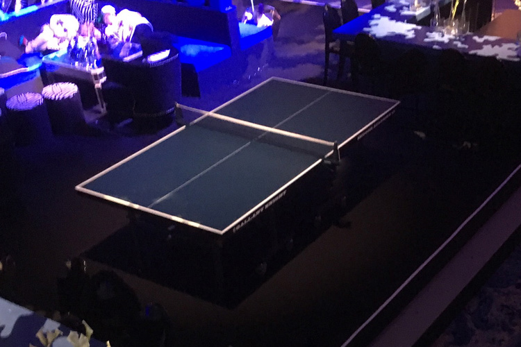 Table tennis event hire