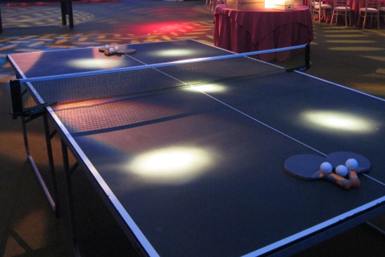 Table tennis hire London