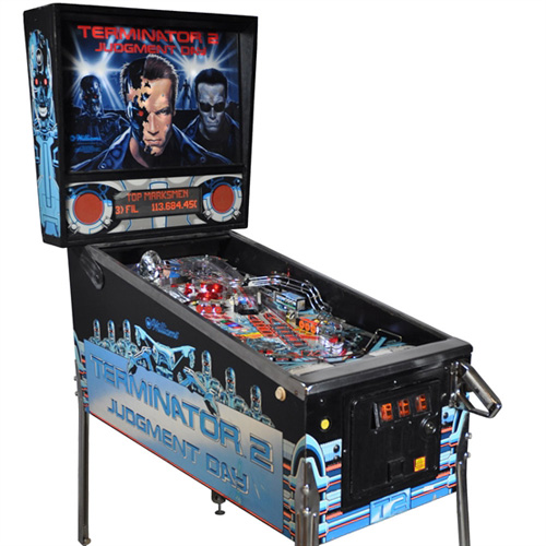 Terminator 2 Pinball Hire