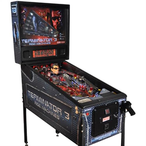 Terminator 3 Pinball Hire
