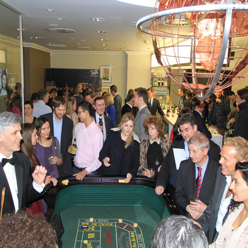 Vegas craps table hire