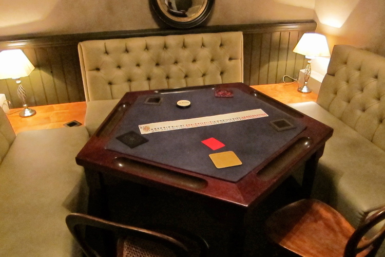 Vintage Stud Poker Table