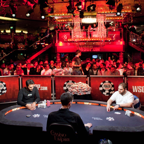 WSOPE Final Poker Table Hire