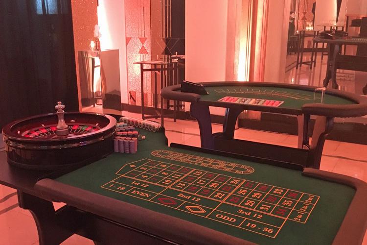 Wedding Casino hire
