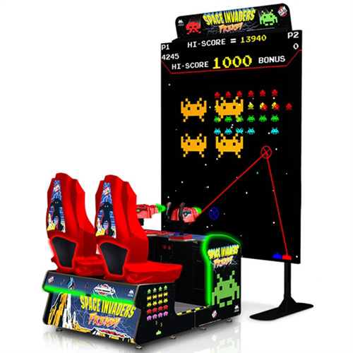 World's Largest Space invaders hire