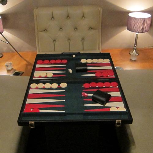 Backgammon board hire