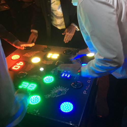 Chaos Strike a Light 4 player machine