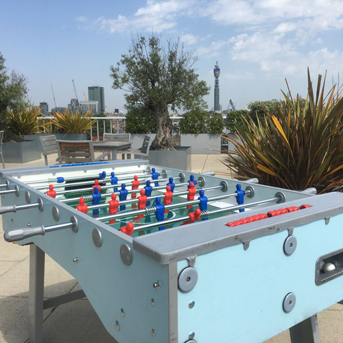 London Rooftop Games hire