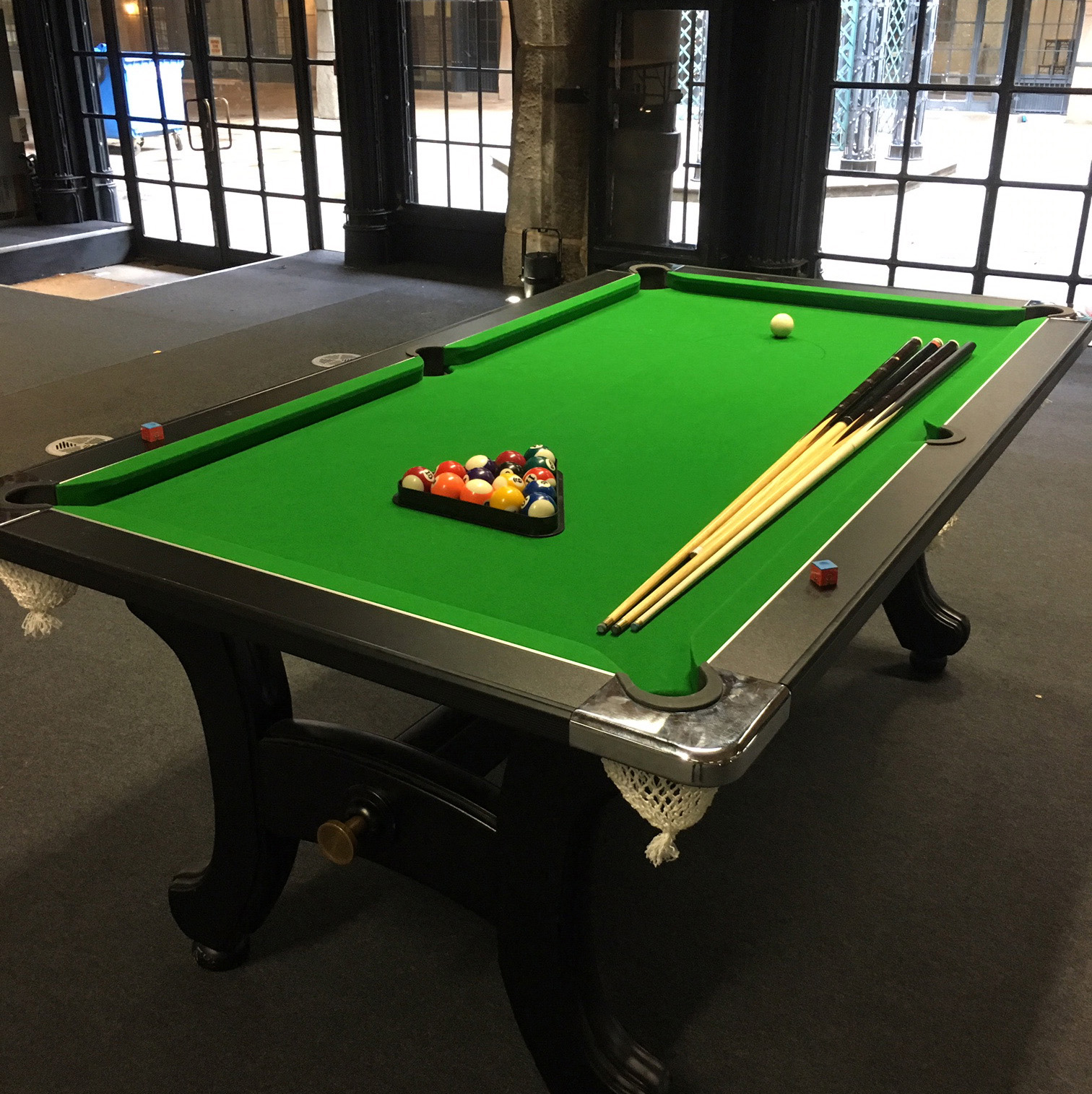 Pool table event hire