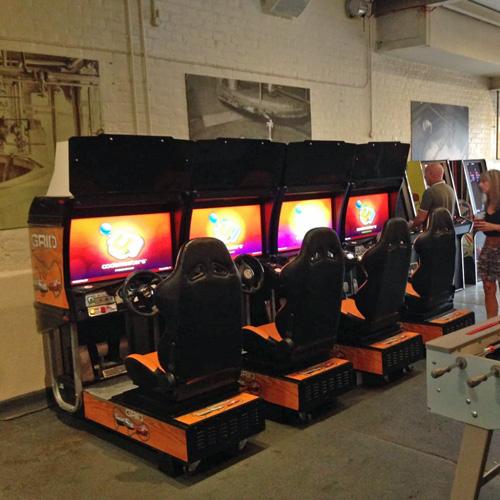 Sega Driving Simulator Hire