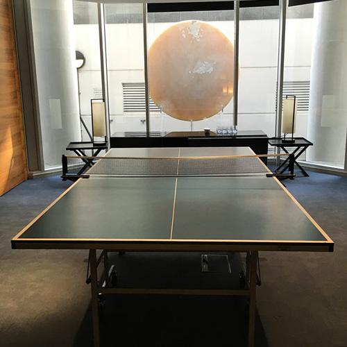 Table tennis table rental