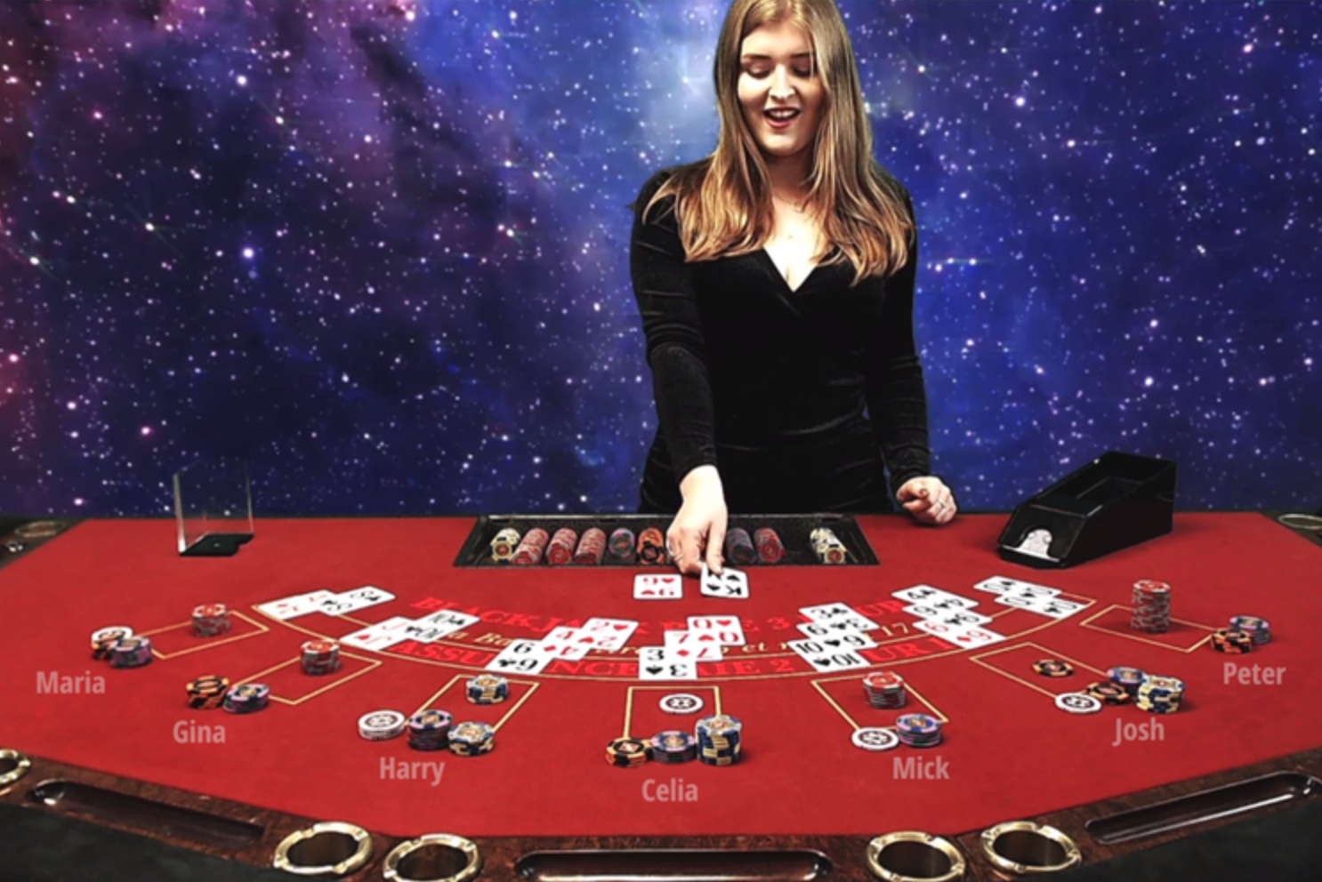 Virtual Black Jack Hire
