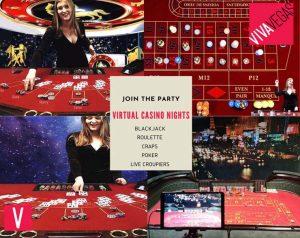 Virtual casino hire